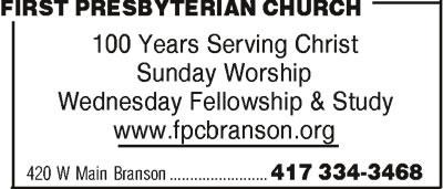 First Presbyterian Church of Branson Preschool