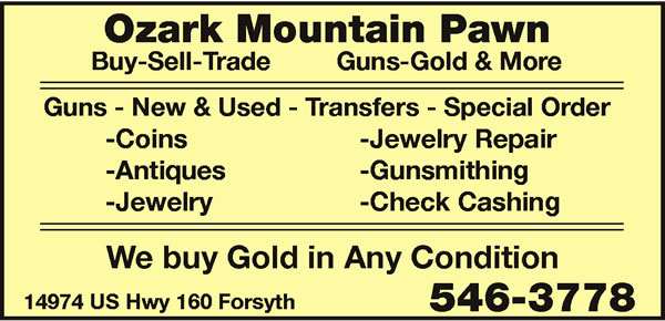 Ozark Mountain Pawn & Fine Jewelry