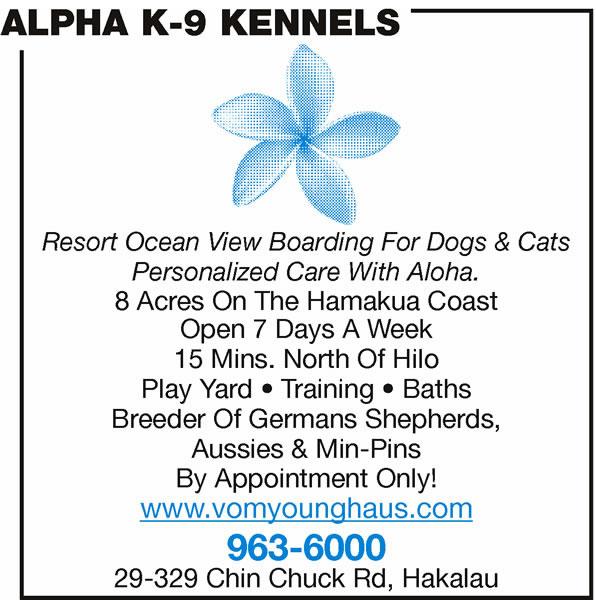 Alpha K-9 Kennels