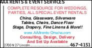 AAA Rents & Event Services