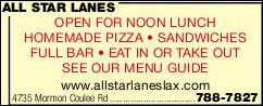 All Star Banquets