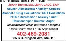 Hunter JoAnn Counseling Service