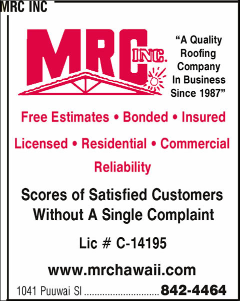 MRC Roofing