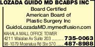 Lozada Guido MD BCABPS Inc