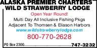 Alaska Premier Charters Wild Strawberry Lodge
