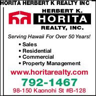 Horita Herbert K Realty Inc