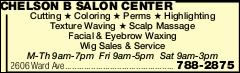 Chelson B Salon Center