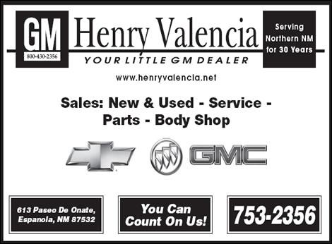 Valencia Henry Inc