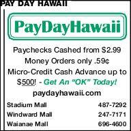 Pay Day Hawaii