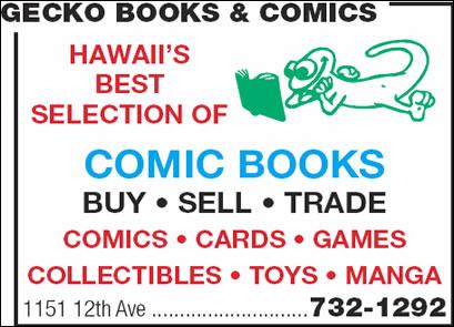 Gecko Books & Comics