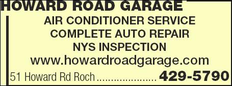 Howard Road Garage