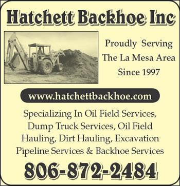 Hatchett Backhoe Inc