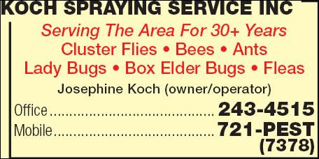 Koch Spraying Service Inc