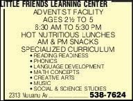 Little Friends Learning Center