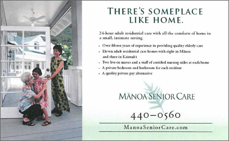 Manoa Senior Care