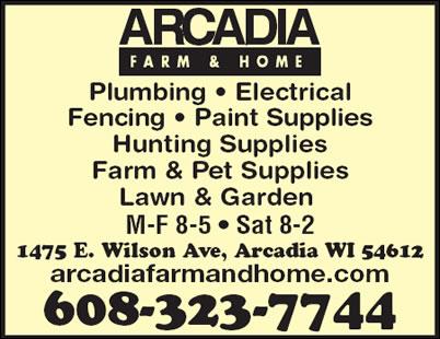Arcadia Farm & Home