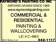 Raymond's Painting Co Inc
