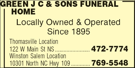 Green J C & Sons Funeral Home