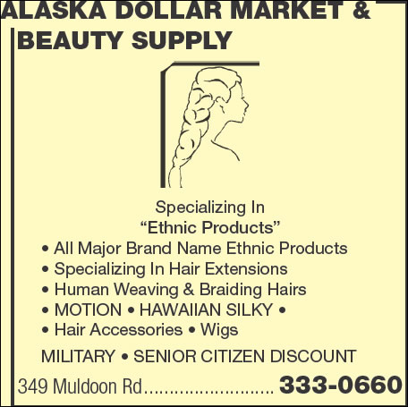 Alaska Dollar Market & Beauty Supply