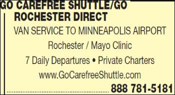 Go Carefree Shuttle-Go Rochester Direct