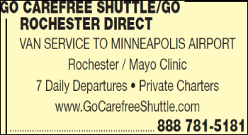 Go Carefree Shuttle-Go Rochester Direct