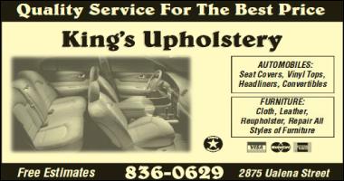 King's Upholstery