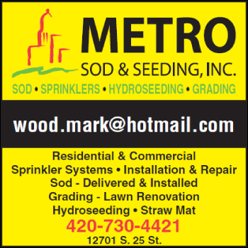 Metro Sod & Seeding Inc