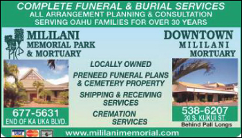 Mililani Memorial Park & Mortuary