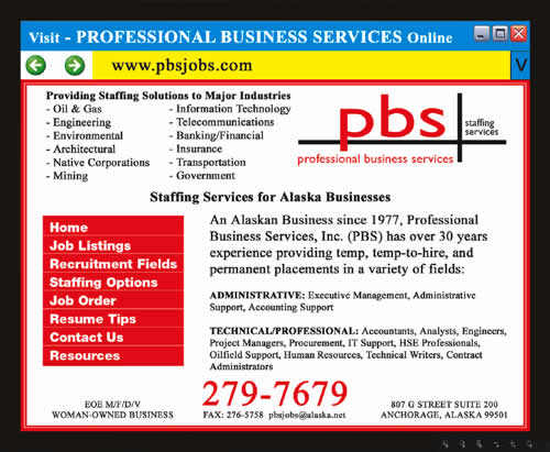 Professional Business Services Inc