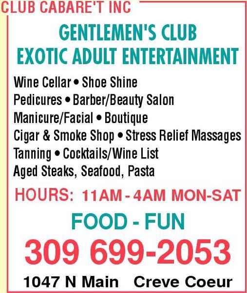 Club Cabare't Inc