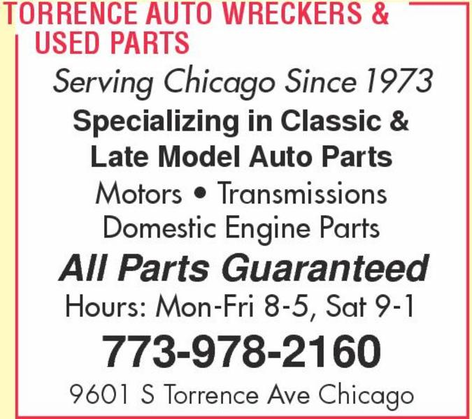 Torrence Auto Wreckers & Used Parts