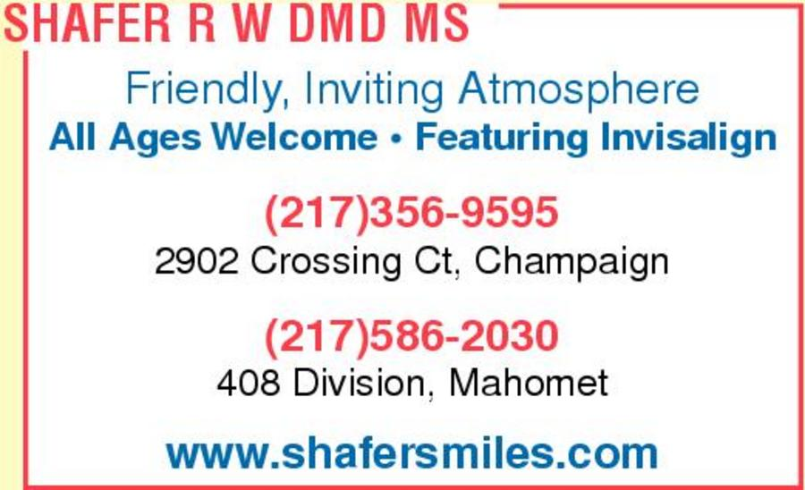 Robert W. Shafer, DMD, MS