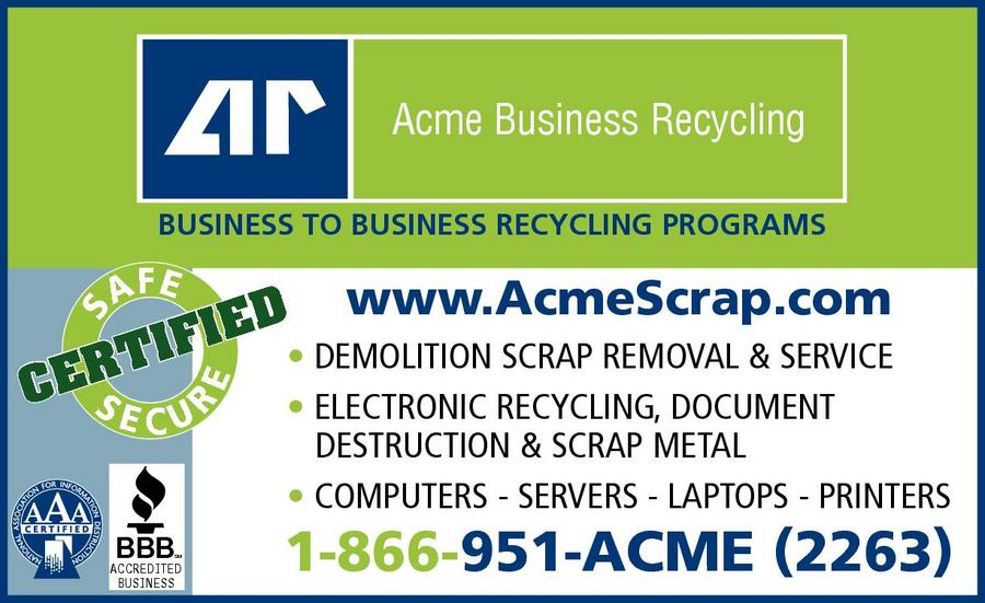 Acme Refining Scrap Iron & Metal Company