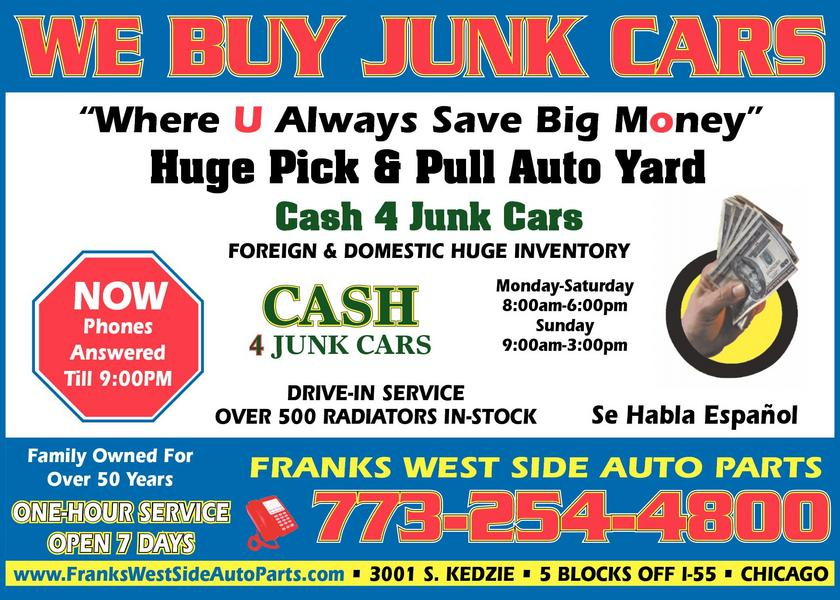 Franks West Side Auto Parts, Inc.