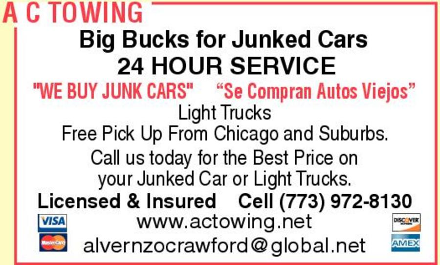 A C Towing and Junk Cars for Cash