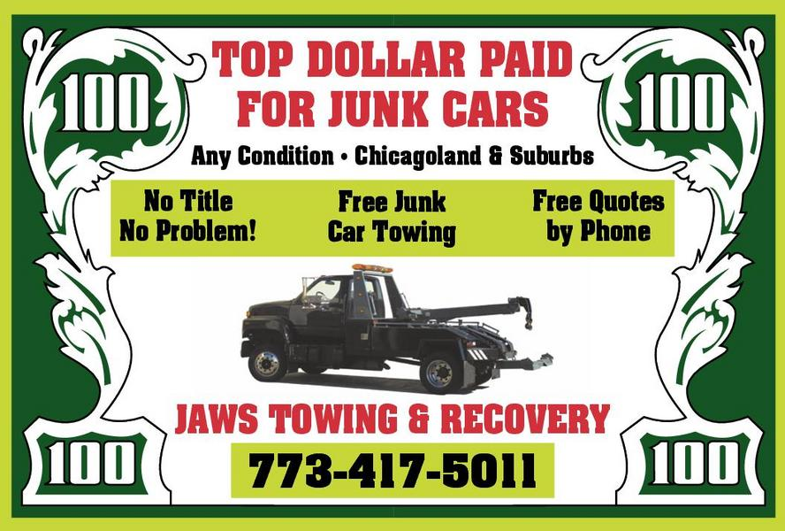 Jaws Towing & Junk Car Buyers / Cash For Junk Cars