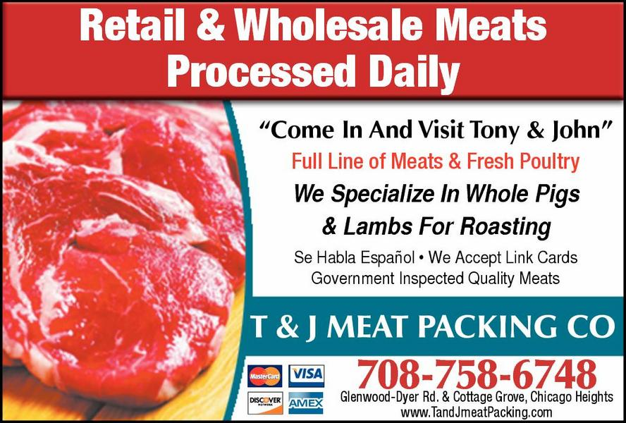 T & J Meat Packing Co