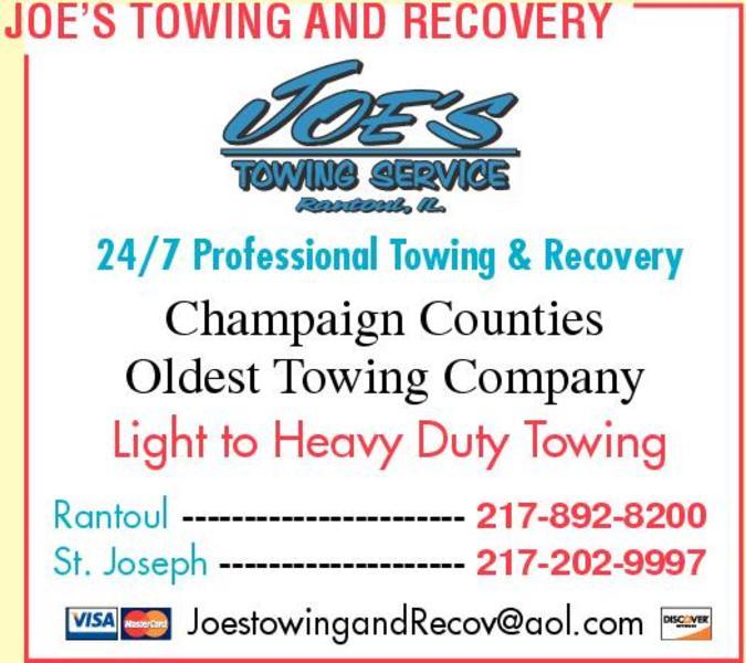 Joe's Towing & Recovery Inc.
