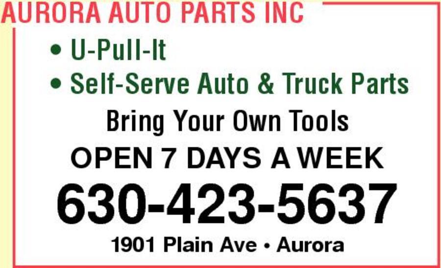 Aurora Auto Parts, Inc.