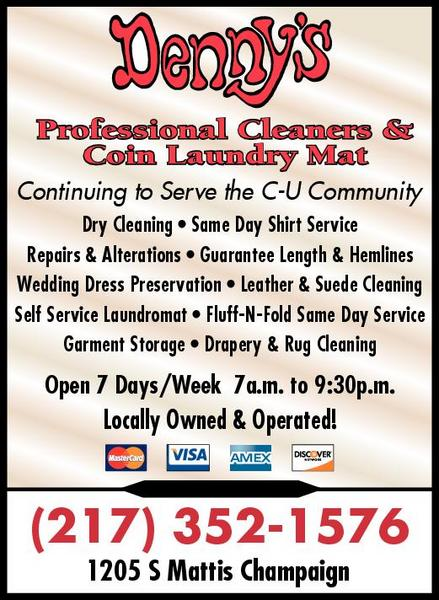 Denny's Professional Cleaners & Launderers