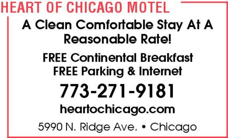 Heart Of Chicago Motel