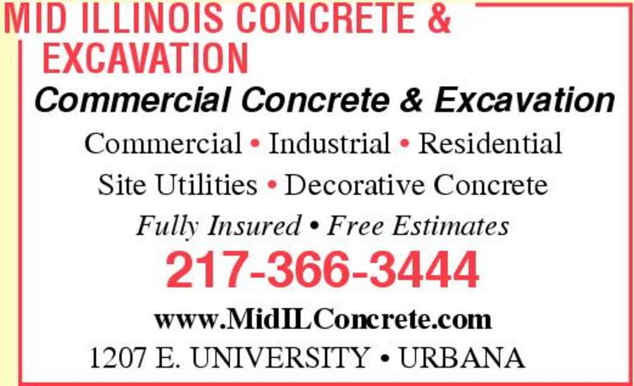 Mid Illinois Concrete & Excavation, Inc.