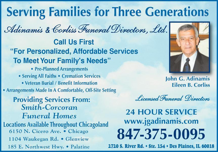 Adinamis & Corliss Funeral Directors Ltd.