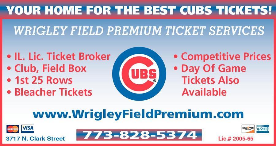 Wrigley Field Premium Ticket Services