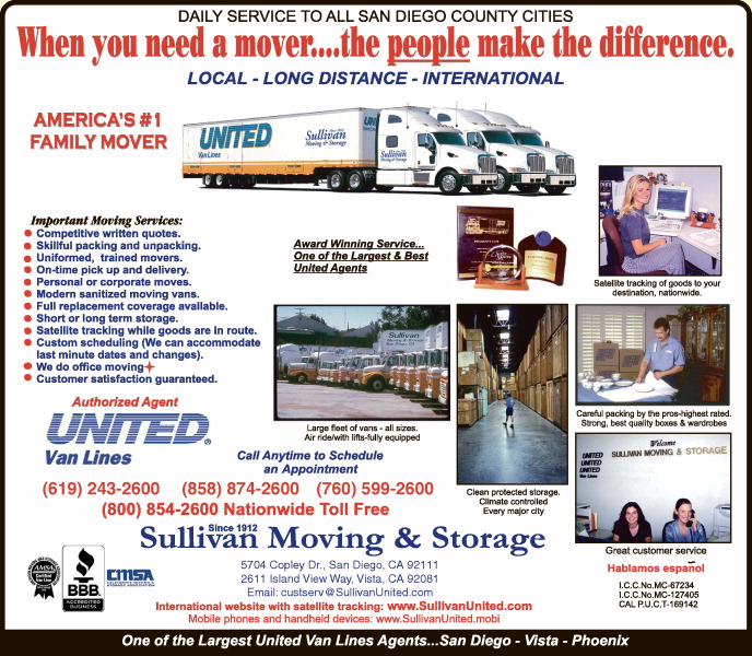 Sullivan Moving & Storage Company