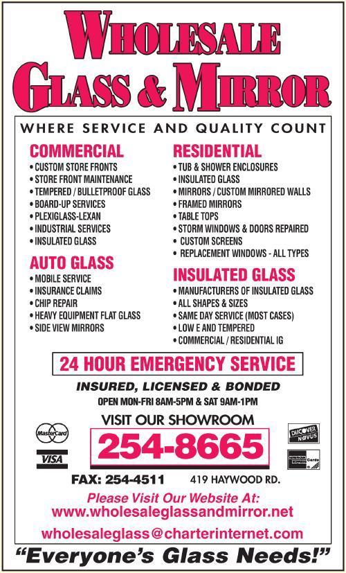 Wholesale Glass & Mirror Company