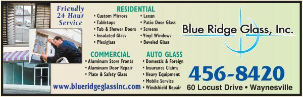 Blue Ridge Glass Inc