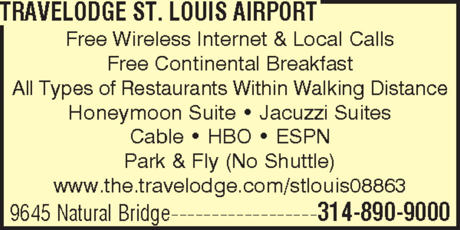 Travelodge St. Louis Airport
