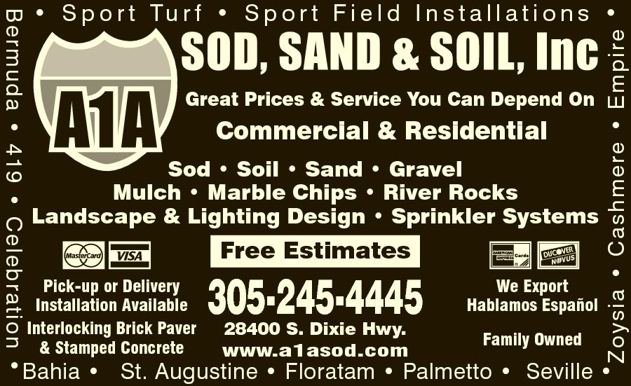 A1A Sod Sand & Soil Inc