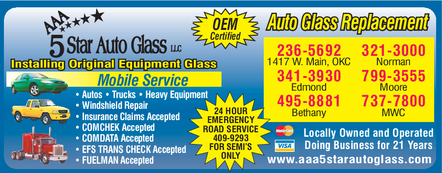 AAA 5 Star Auto Glass